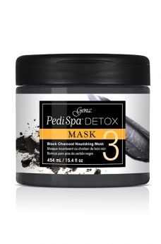 Pedi Spa Detox Black Charcoal Mask 15.4 oz