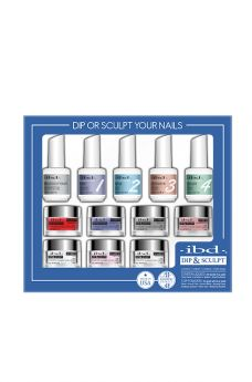 ibd Dip & Sculpt Professional Kit 12 pc