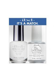 ibd It's A Match Duo French White 1 PK