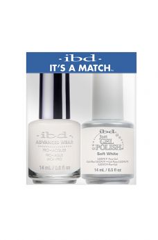 ibd It's A Match Duo Soft White 1 PK