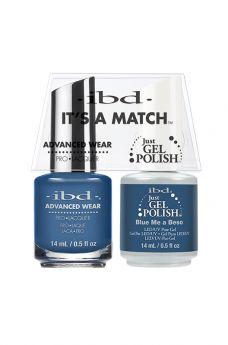 ibd Advanced Wear Color Duo Blue Me a Beso 1 PK